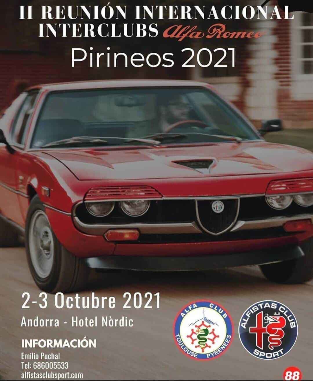 Reunión Interclubs Alfa Romeo en Andorra
