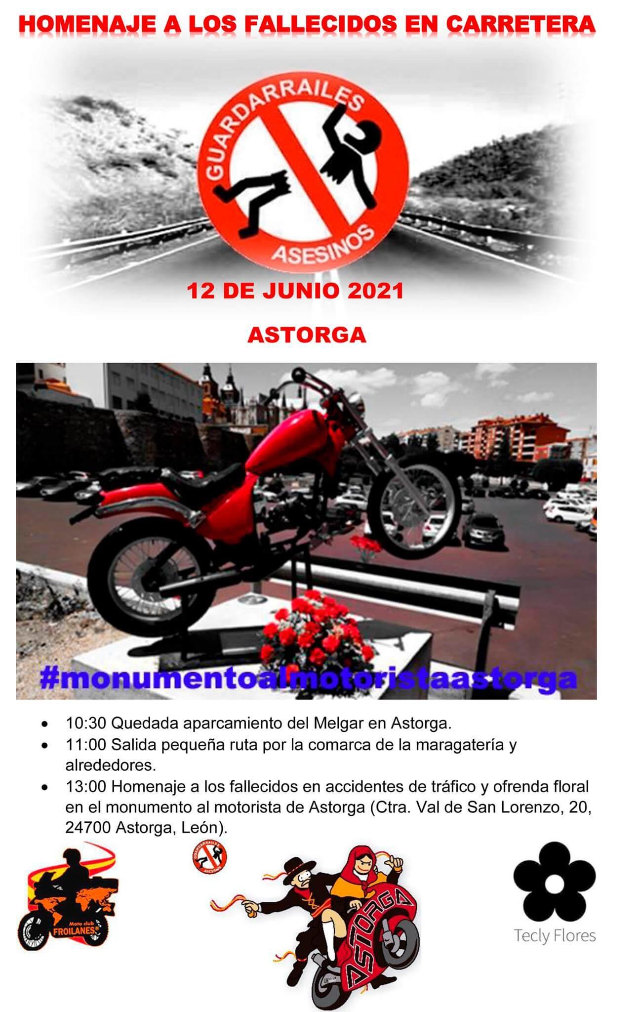 Concentración Motera en Astorga