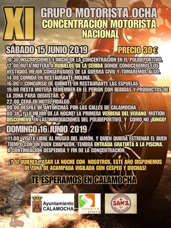 concentraciones moteras Teruel
