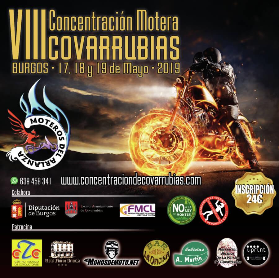 concentracion motera Burgos