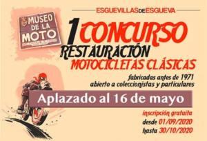 concurso restauración motos clásicas en Valladolid