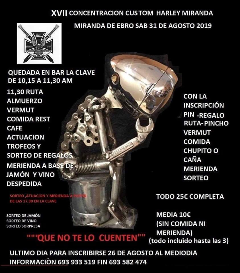 Concentración Motera Miranda de Ebro