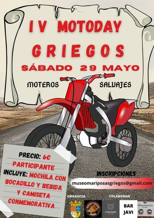 Quedada Motera en Griegos, Teruel