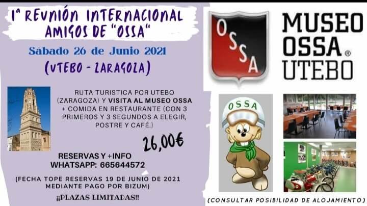 Reunión Amigos de Ossa en Utebo, Zaragoza.
