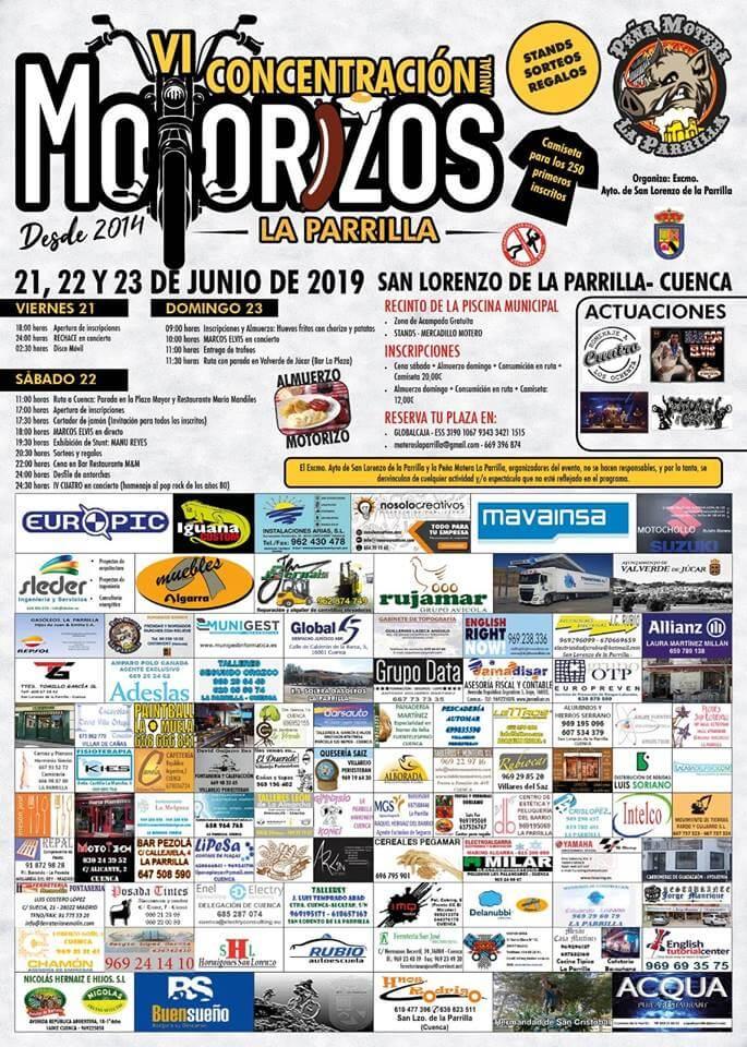 concentraciones moteras Cuenca