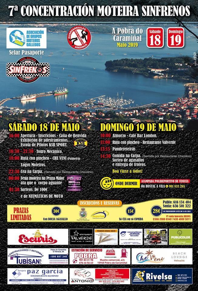 concentracion motera A Coruña