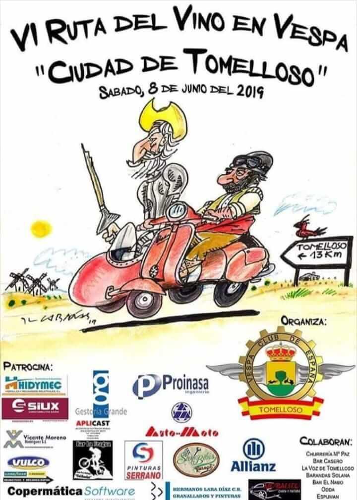 concentraciones moteras Ciudad Real