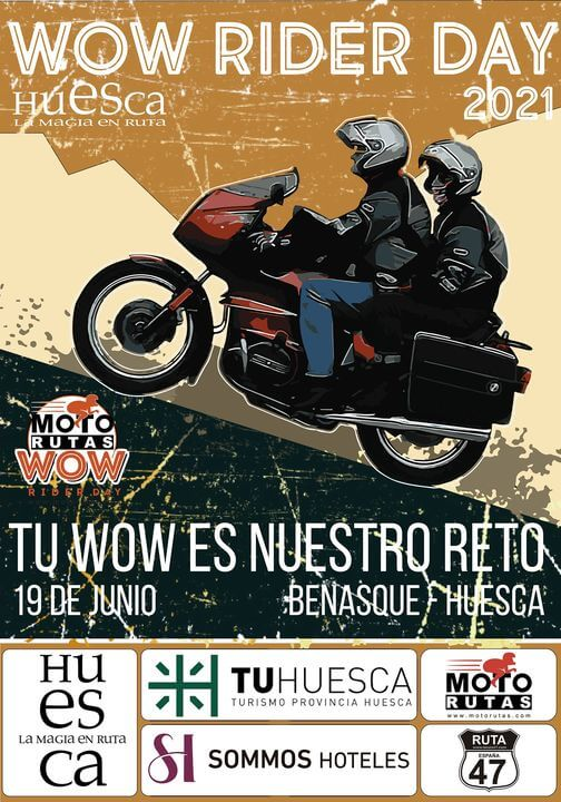WOW Rider Day Huesca