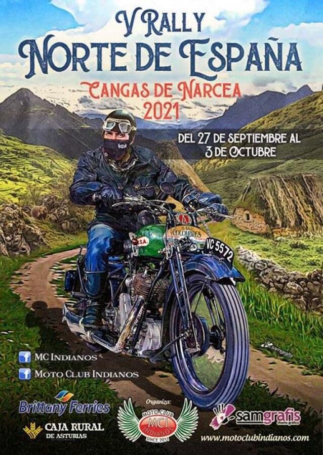 rally norte de España en Asturias