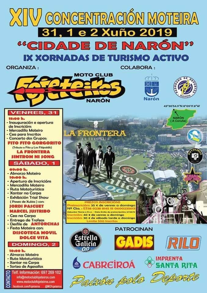 concentraciones moteras A Coruña