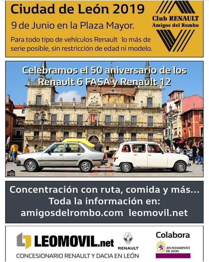 coches clasicos Renault Leon