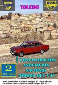 Concentración SEAT 131 en Toledo