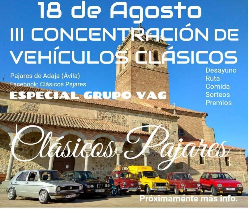 concentraciones coches clasicos Avila