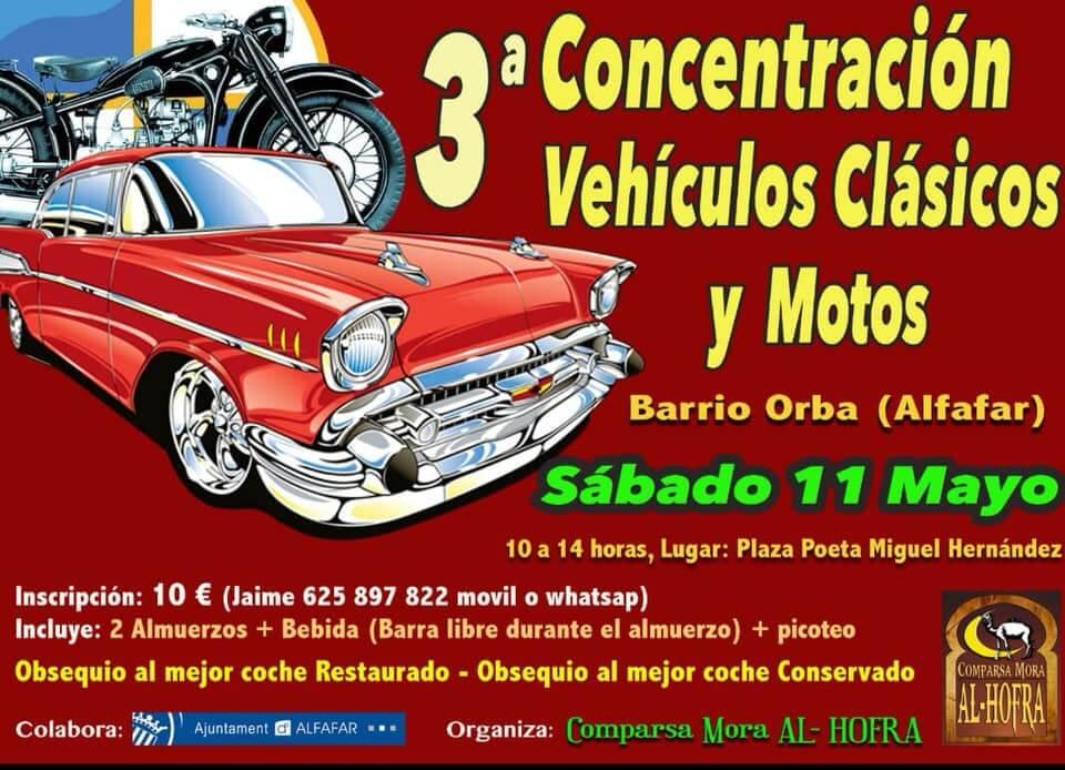 concentracion coches clasicos valencia
