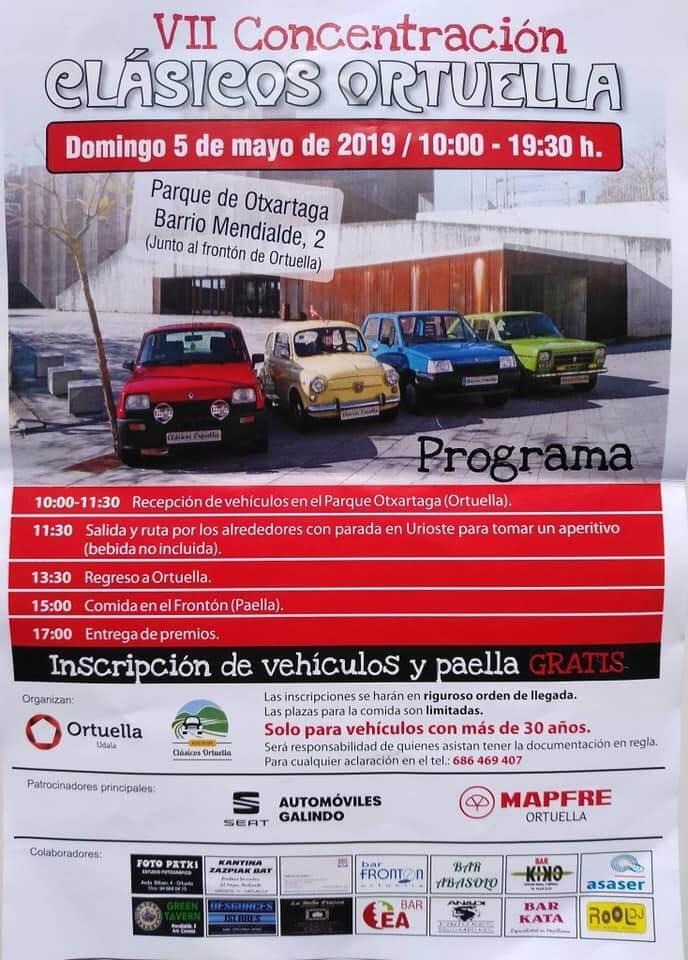 concentracion coches clasicos euskadi pais vasco