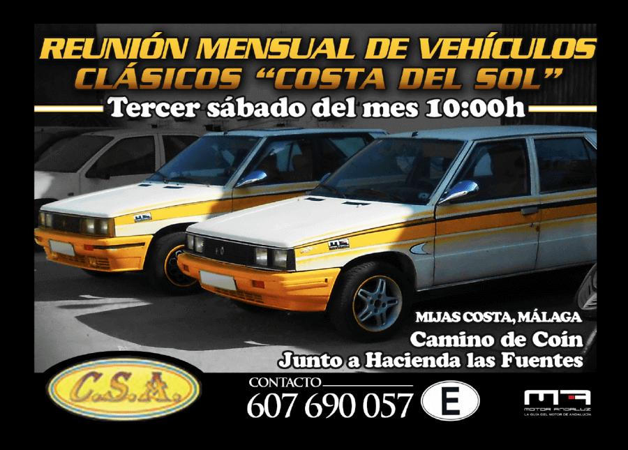 concentraciones coches clasicos Malaga