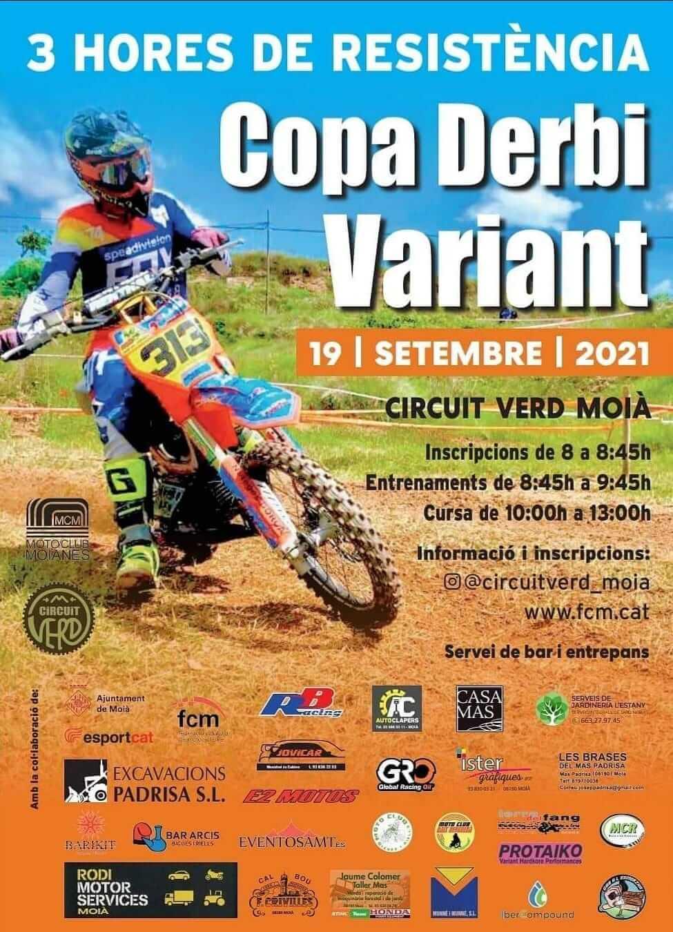 Copa Derbi Variant