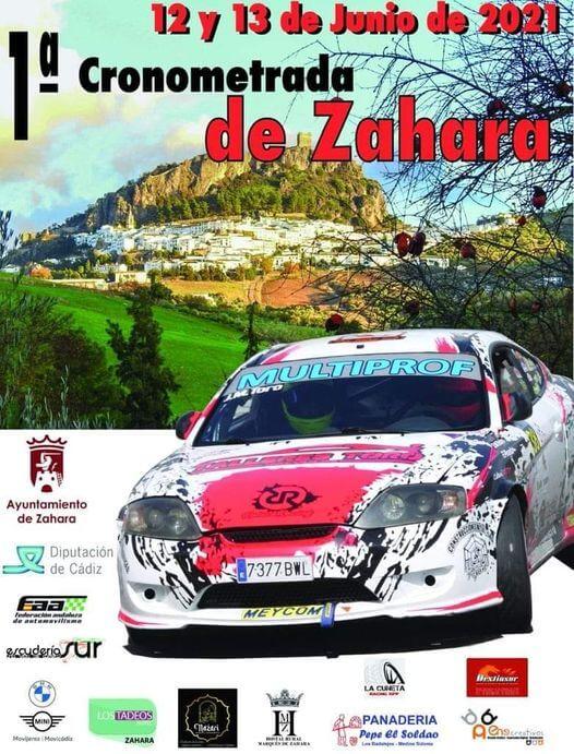 Primera Carrera Cronometrada de Coches en Zahara, Cádiz
