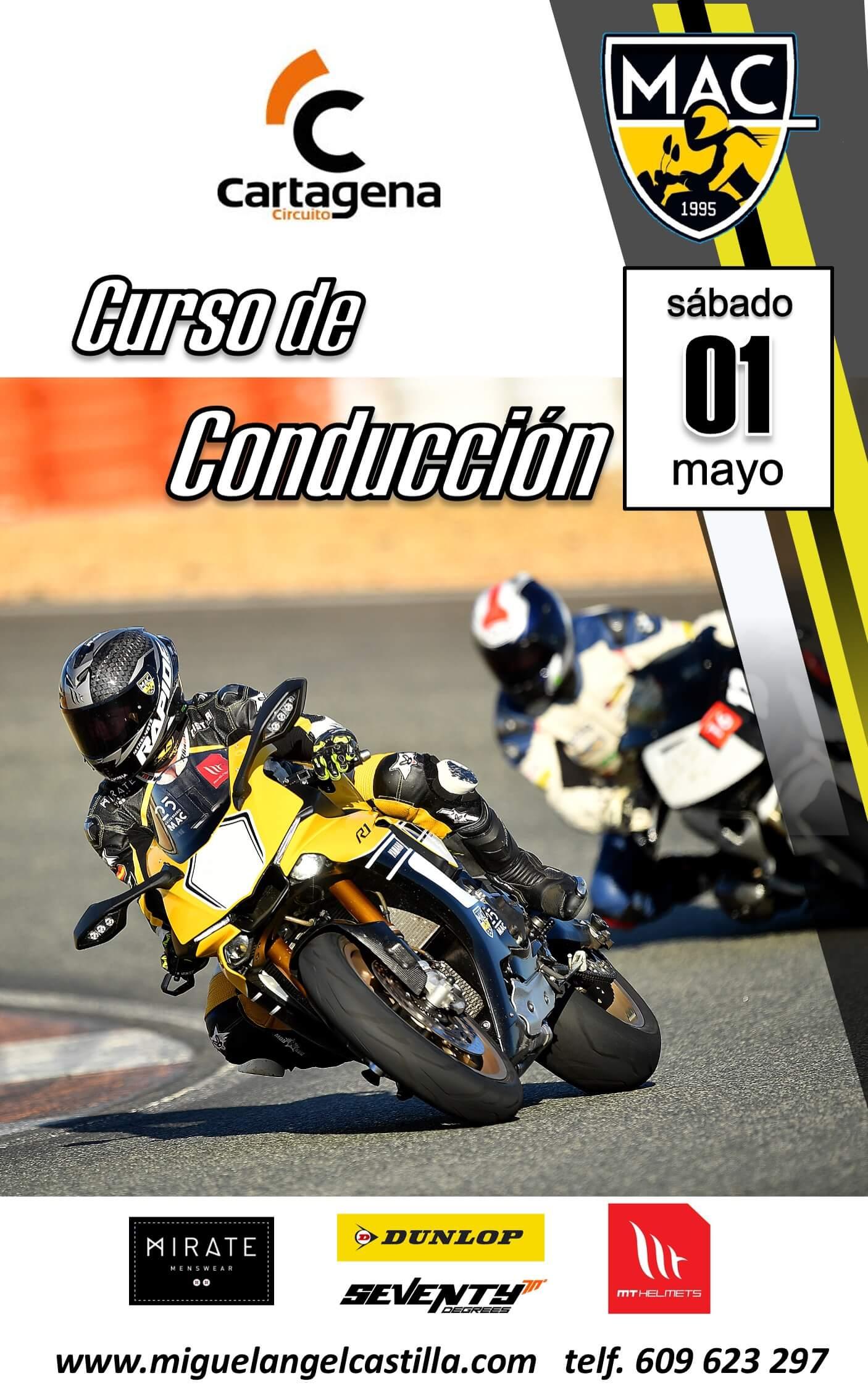 curso conduccion moto Cartagena