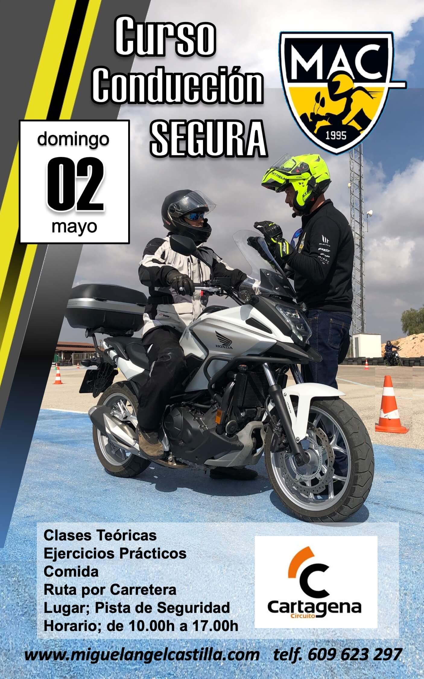 curso conducion segura Cartagena