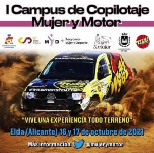 Curso de Copilotaje Mujer y Motor en Alicante