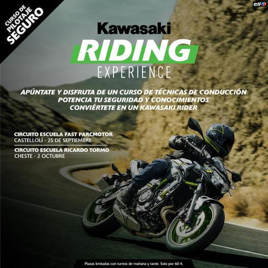Calendario Kawasaki Riding Experience