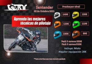 Curso de conducción motos en Santander