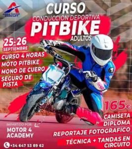 Curso motos pitbike en Fuensalida, Toledo