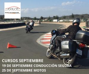 calendario Curso conducción segura motos en Fast Circuit Valencia
