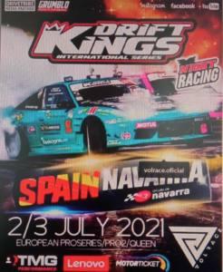competicion drift kings en Navarra