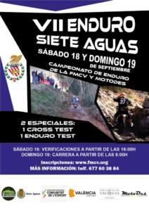Enduro Siete Aguas, Valencia