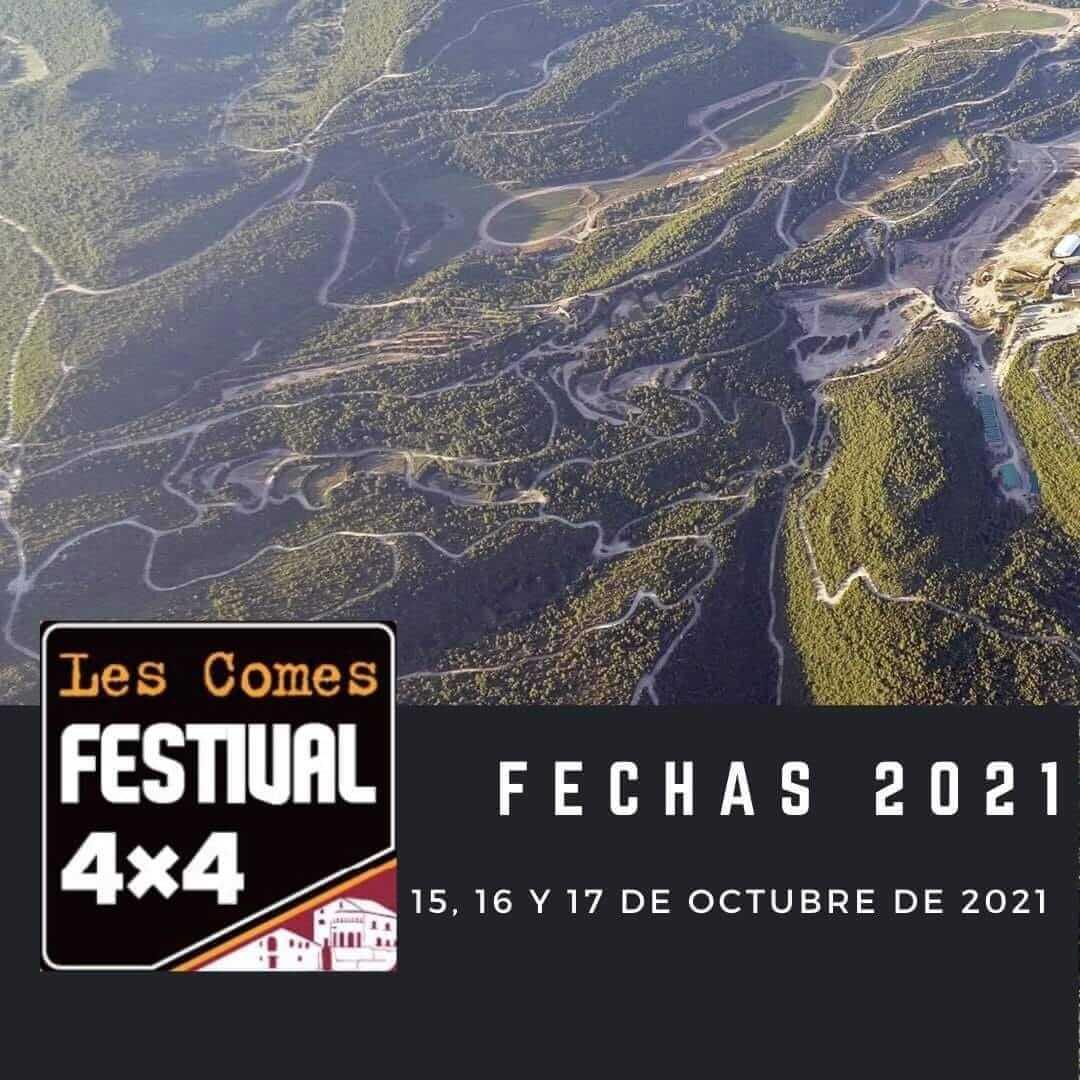 Festival Todoterreno 4x4 en Les Comes 2021