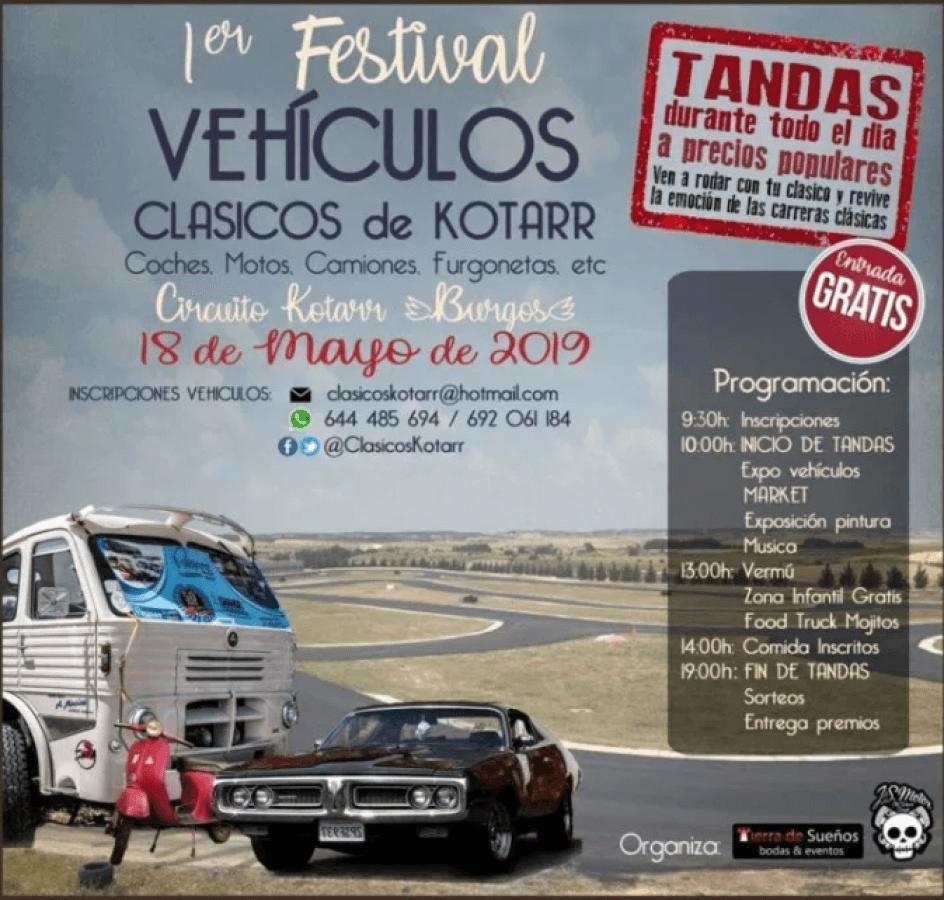 festival coches clasicos burgos