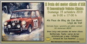 concentraciones vehiculos clasicos Barcelona