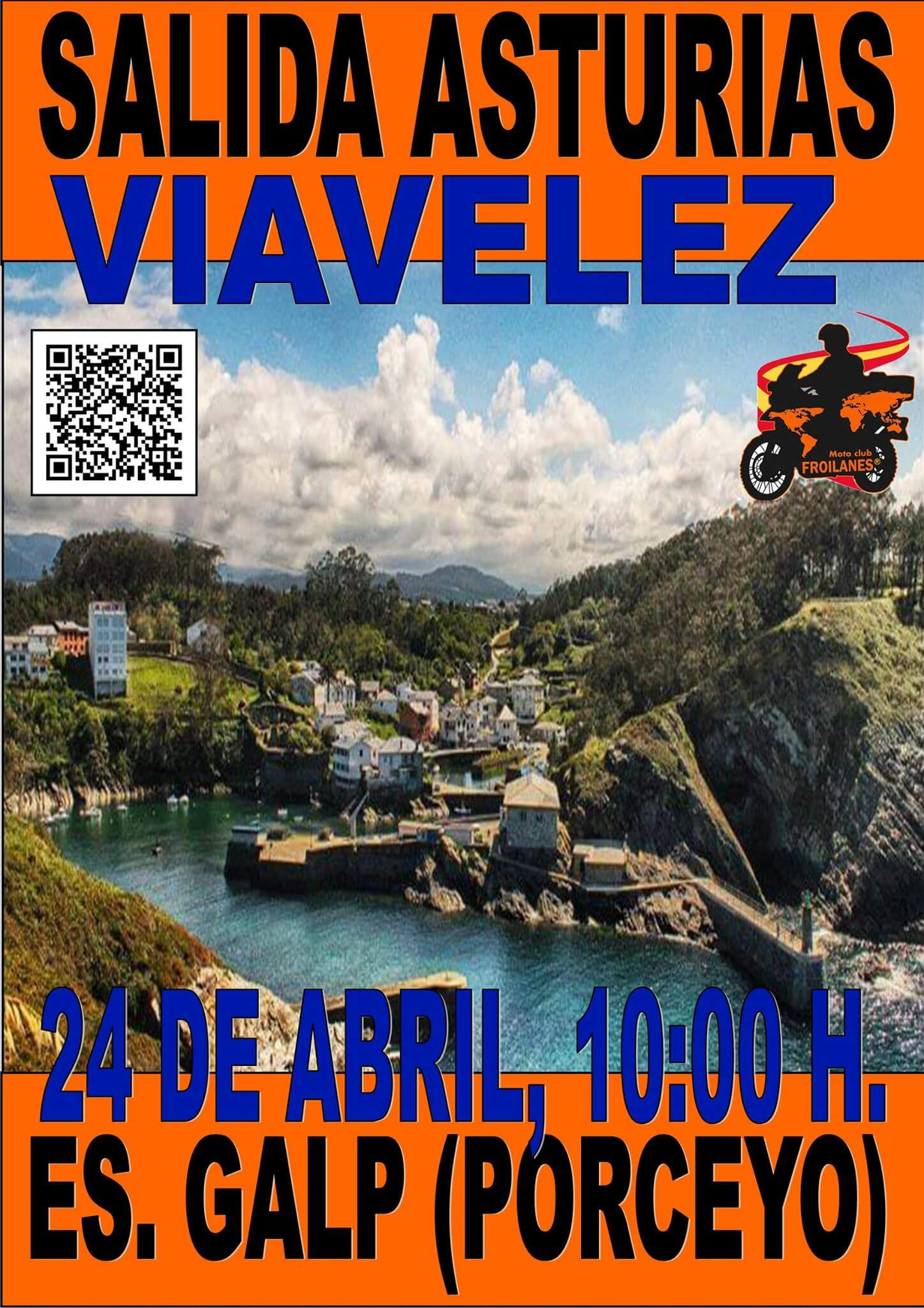 ruta motera en Asturias