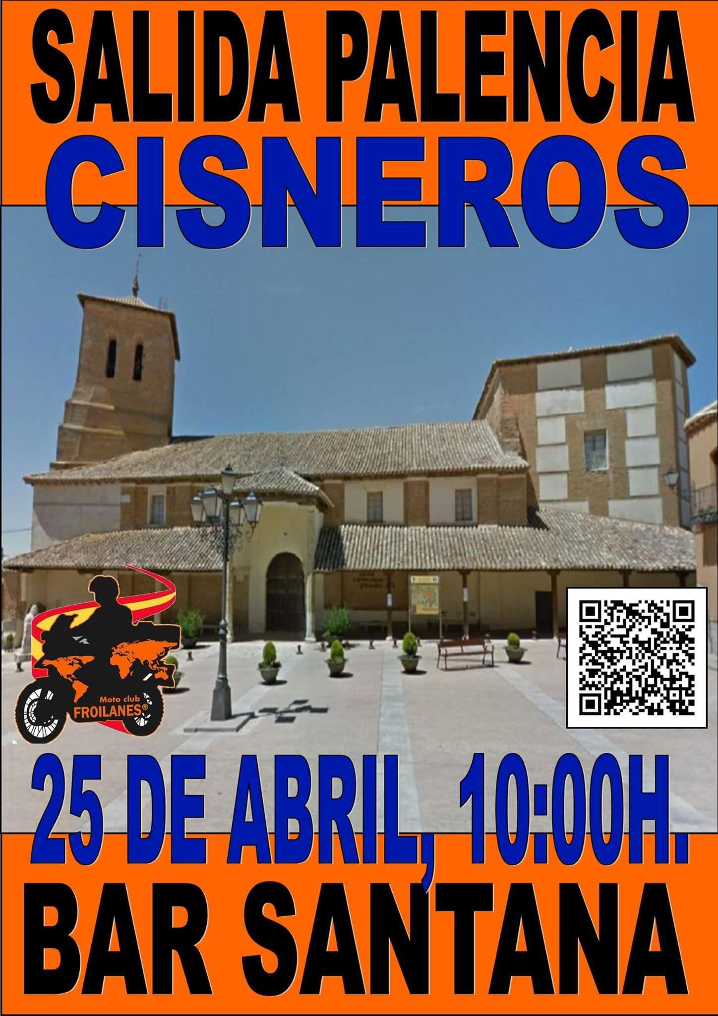 Ruta motera en Palencia