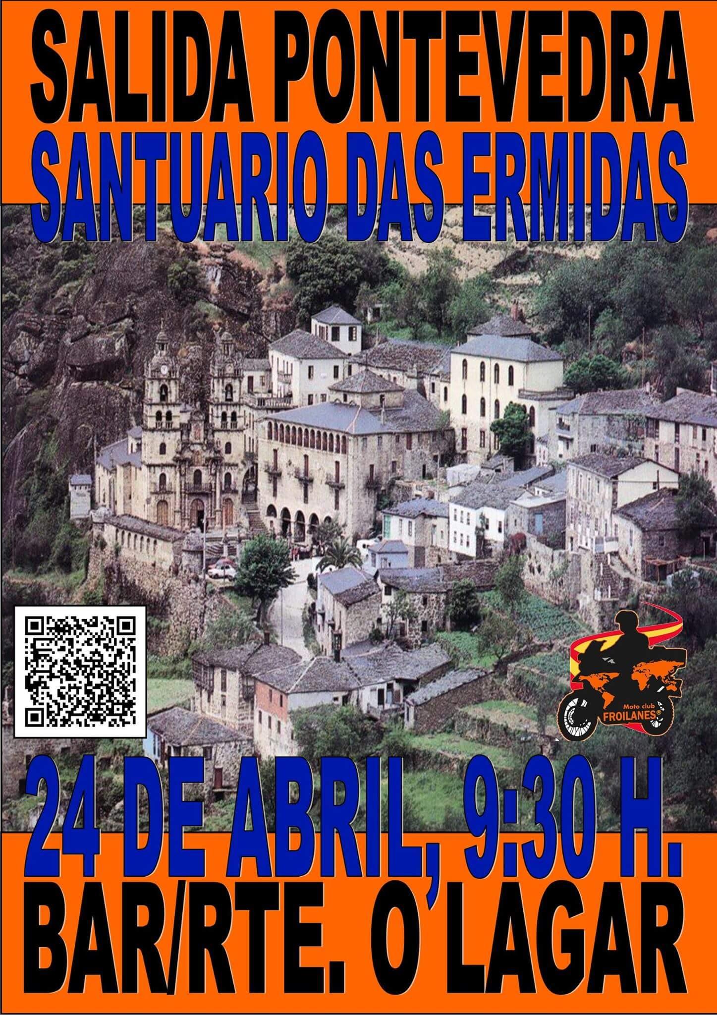 Ruta motera en Pontevedra