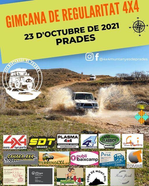 Gimcana de Regularitat 4x4 en Tarragona