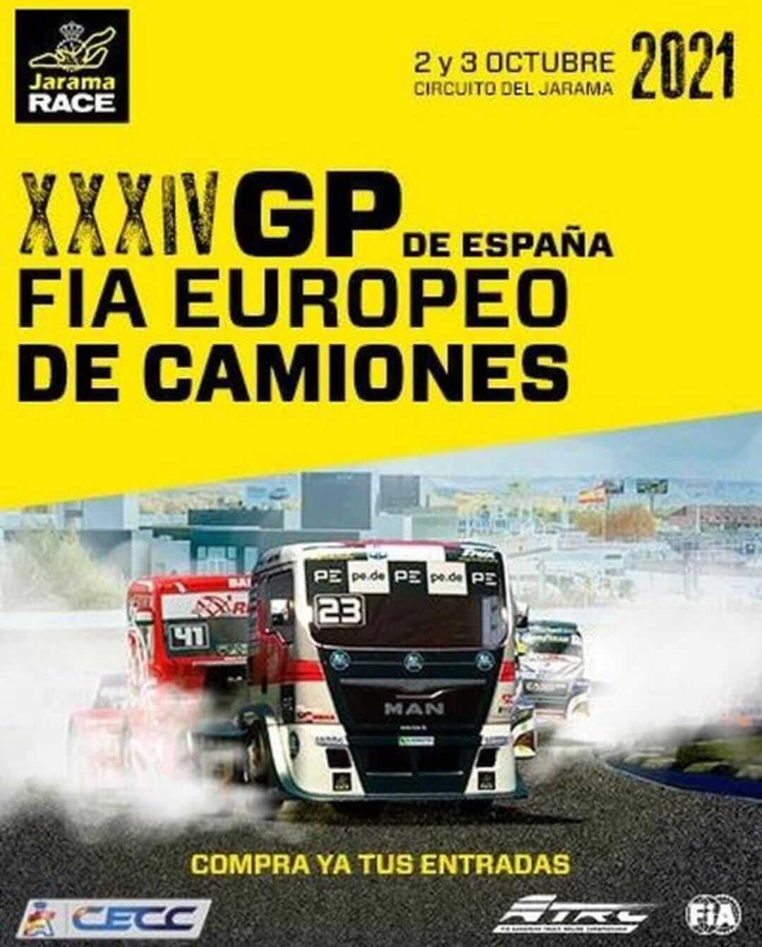 GP España de Camiones en Madrid
