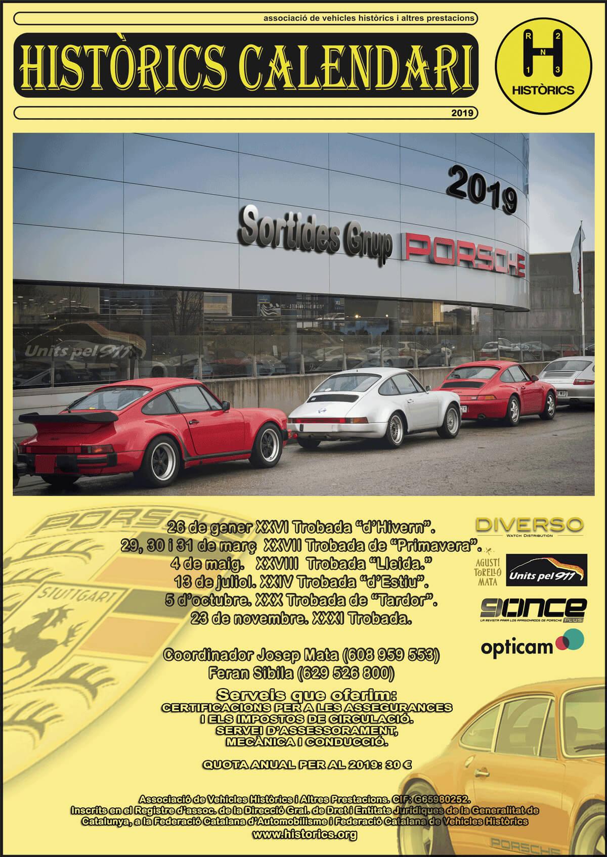 concentraciones coches clasicos Porsche
