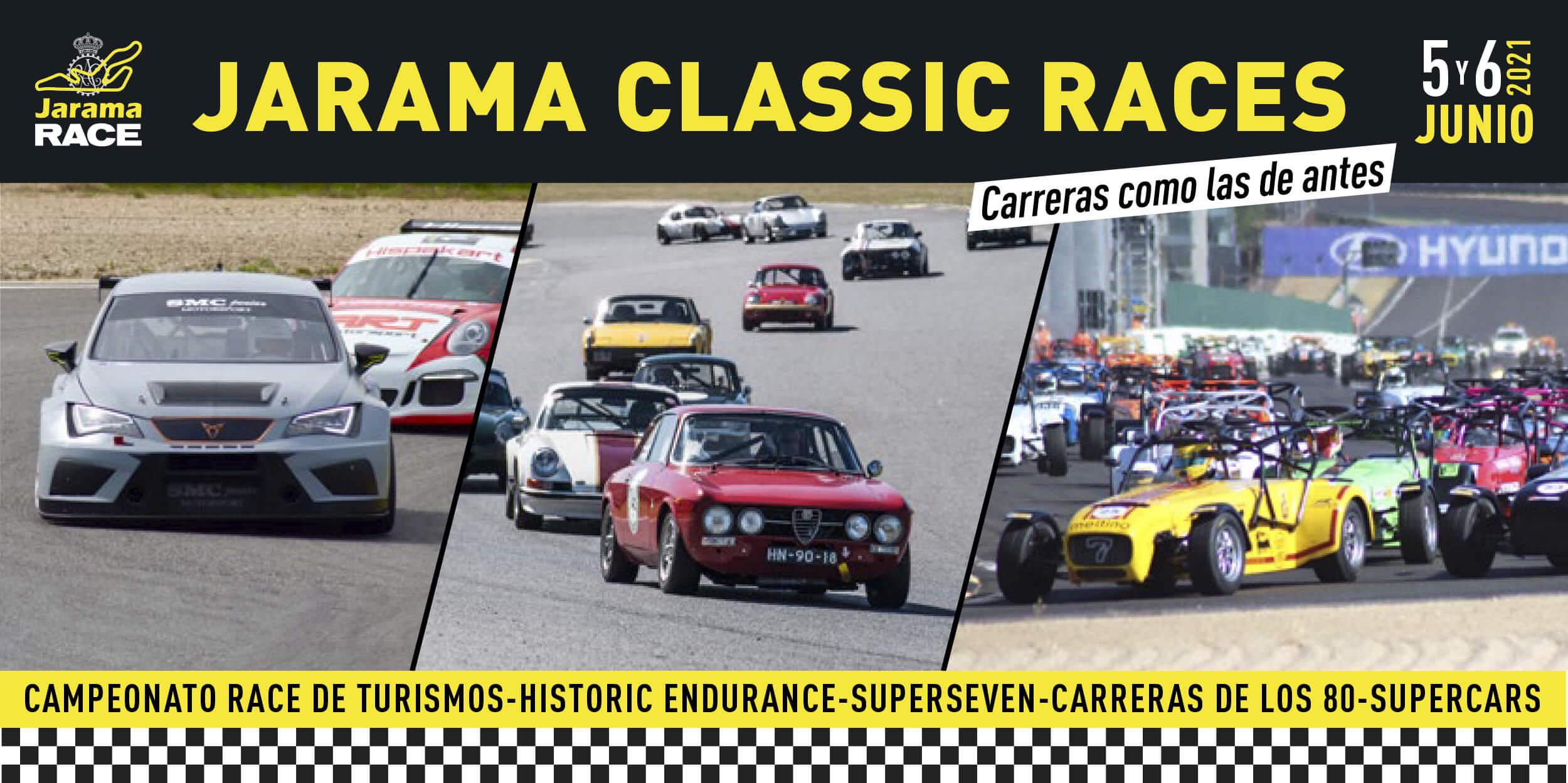 Concentración y Carreras de coches clásicos Jarama Classic Races