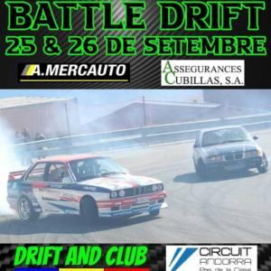 KDD Battle Drift en Andorra, por Drift and Club