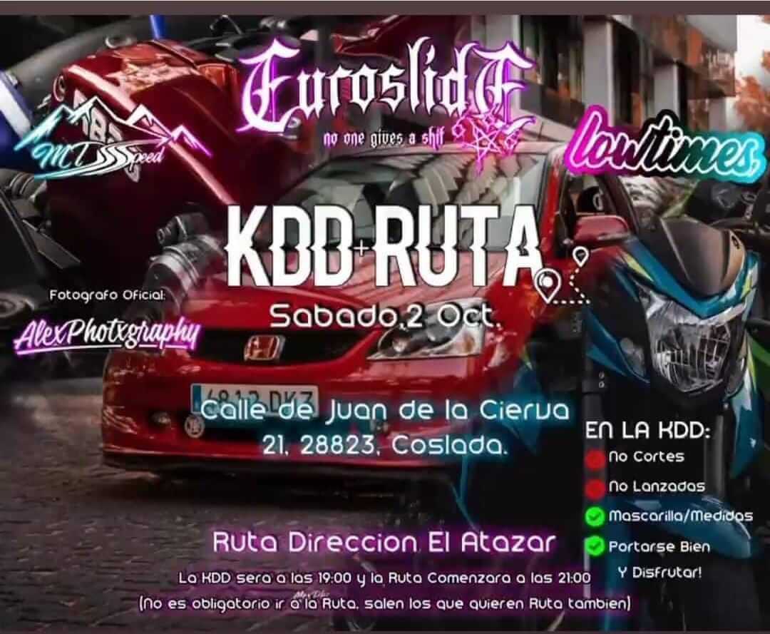 KDD y Ruta Racing en Costada