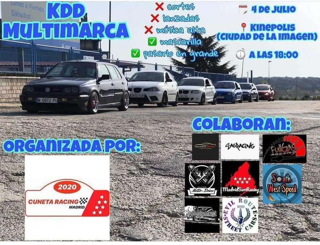 KDD racing tuning en Kinépolis Ciudad de la Imagen, Madrid.