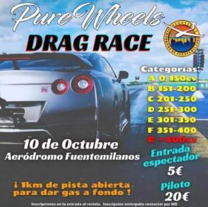 Drag Race en Aeródromo de fuentemilanos, Segovia