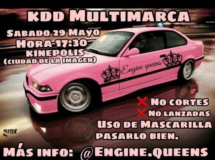 KDD Racing Tuning en la Ciudad de la Imagen, Kinépolis