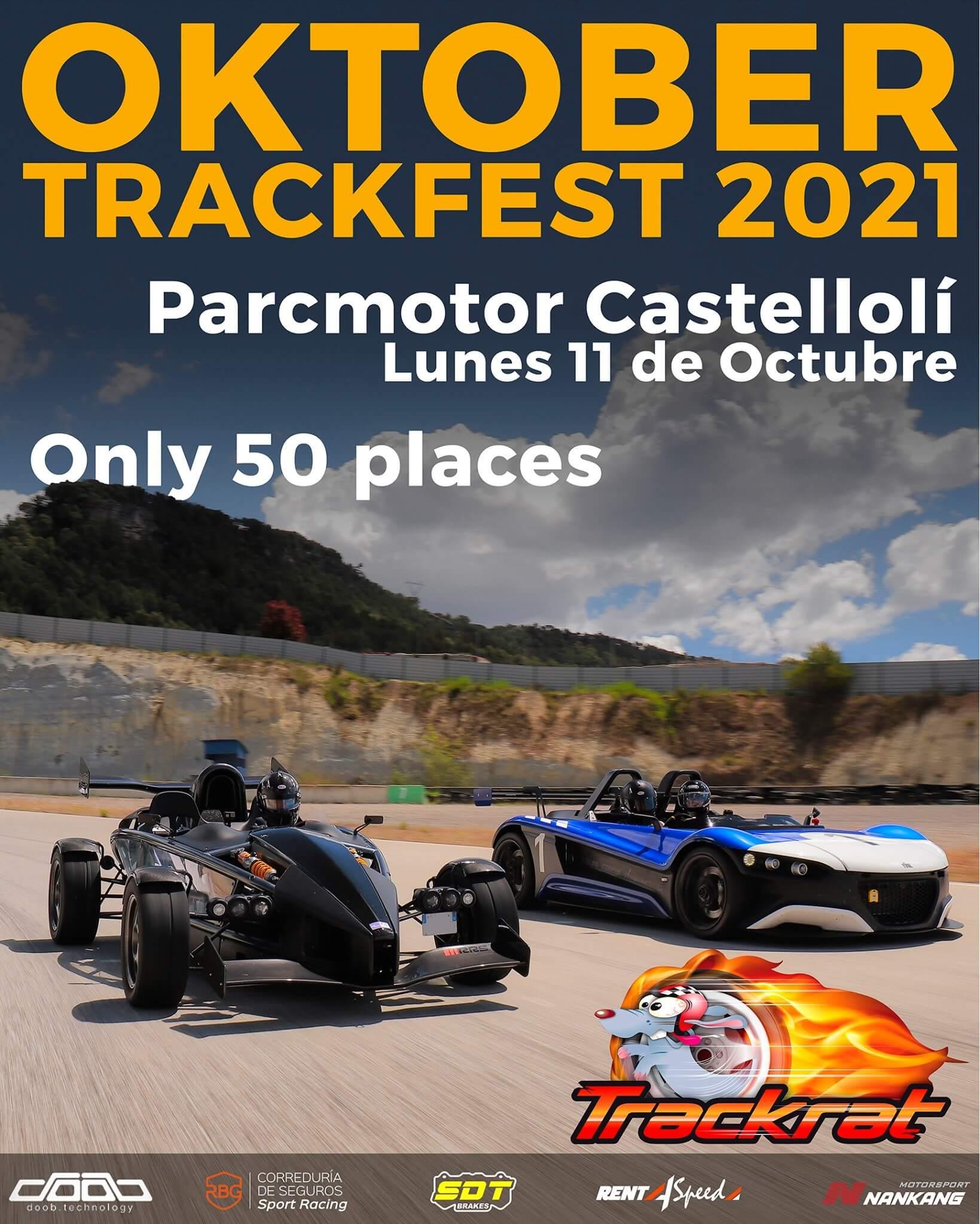 Tandas Oktober Trackfest en Castellolí