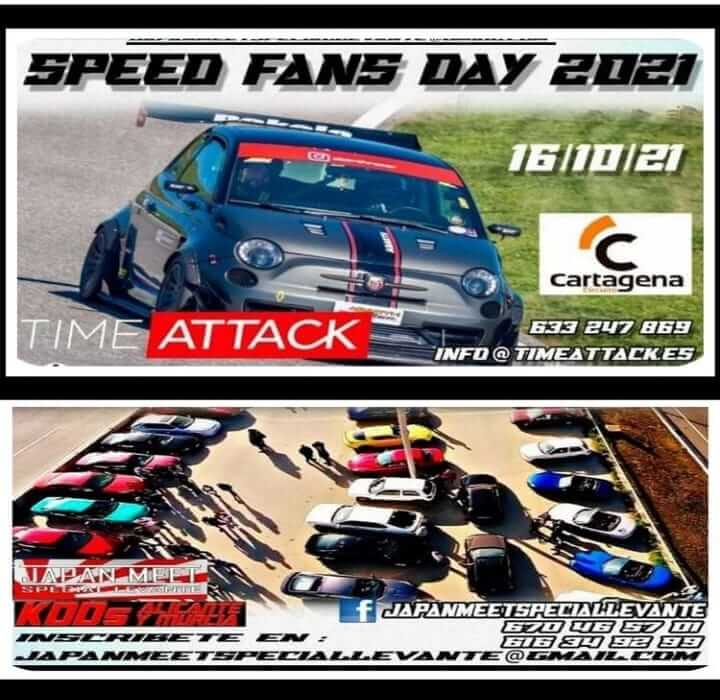 Trackday y KDD Japan Meet en Murcia