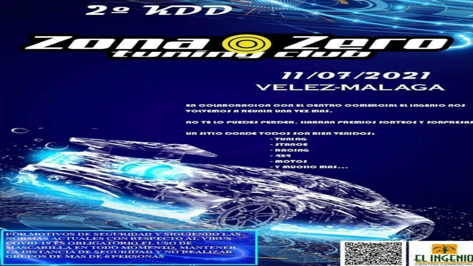 KDD tuning organizada por Zona Zero Tuning Club en Vélez-Málaga.