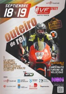 Carrera motociclismo en Outeiro de Rei, Lugo